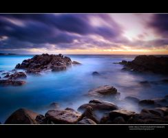 Injidup Beach Long Exposure by Furiousxr