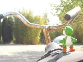 yoshi and the rusty bike by valentin-mittler