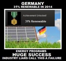 Germany 31% Renewable - Huge Success by Valendale