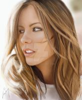Kate Beckinsale Painting by JD3366