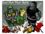 Real Men Wear Skirts by paperlab