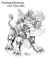 Warforged Barbarian2 by Reh0