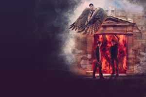 supernatural wallpaper by chouette-e