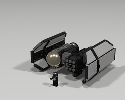 First Order Tie Bomber by Jesse220