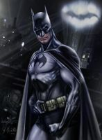 Batman color by RaffaeleMarinetti