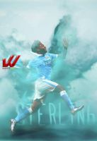 Raheem Sterling by WaaaLi