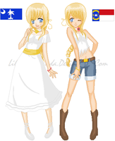 New SC and NC by LilGothicPanda