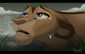 The Rain Falls by Bawfle