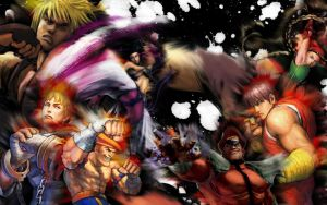 Super street fighter 4 by Synrite