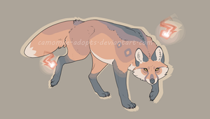 Fox Adopt [CLOSED] by camomile-adopts