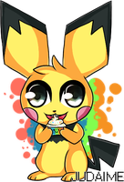 Just as sweet as a pichu by Judaime