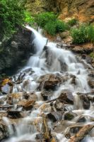Tyndall Creek Cascades 6162 by pesterle
