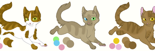 Cat OC Adopts #2 | OPEN by Bay-fire