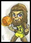 Teen Wolf SketchCard by lordmesa