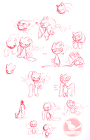 a whole page of banettes by VCR-WOLFE