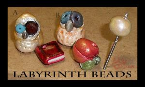 Labyrinth beads 2OBPC by hawthorne-cat