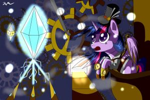 Steampuck twilight by Camaine