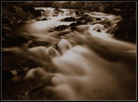 Flowing Through the Night by gordonrae