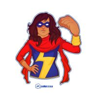 That's Ms Marvel To You by Bluemutantfreak