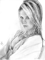 Charlize Theron by juicethehedgehog