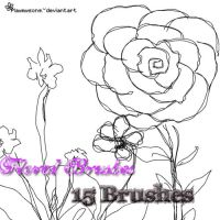 Floral Brushes by playmysong
