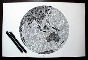 Doodle Earth by lei-melendres