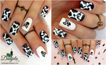 Bones and skulls nail design (Halloween edition) by Danijella