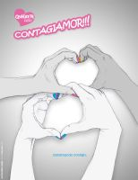 2012mar : Contagiamor -poster- by imaginarism