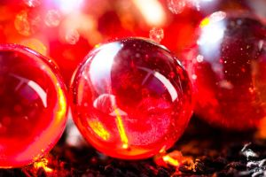 Red Marbles by ChristophMaier
