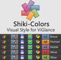 Shiki-Colors for ViGlance by IsNomineVacans