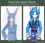Draw this again! meme. by Whitewest