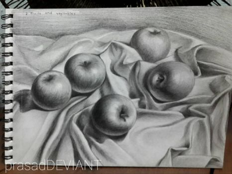 my pencil work  by prasadDEVIANT