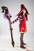 Lulu Cosplay - League of Legends by kreischi