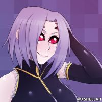 Rachnera - Monster Musume FanArt by Shellahx