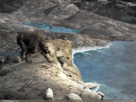 Smilodon Populator by rlcwallpapers