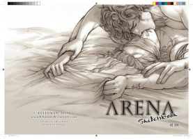 Arena Sketchbook PRE-ORDERS OPEN by Lehanan