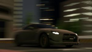 Matte Black GT-R - Fury by MercilessOne