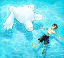 swimming lessons by tigrin