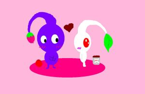 pikmin love by whitepikmin86