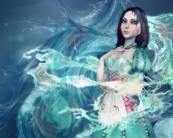 Aquarius by AnnaPostal666