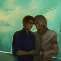 WoW: Ianto and Faedaris by Altana