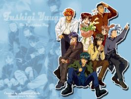 Fushigi Yuugi 01 by xACxWallpaper