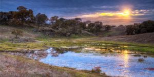 Fall Eve On The Deer Creek by Daveinwilton
