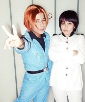 APH Italy and Japon Cosplay by andyblackstar