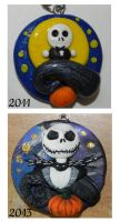 Jack Skellington: Before and After [Improvement] by Pandannabelle