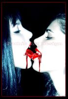 Kissing Blood by gothicdesign