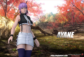 DOA5Ultimate - Ayane by TRDaz