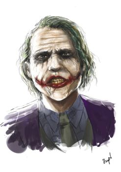 Why so serious by Supsupstudio