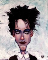 Robert Smith by JaimeMArtist