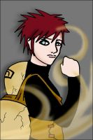 Gaara by churippu